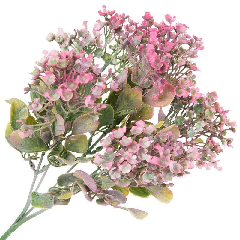 Bukiet Kwiatki Różowy [Komplet 3szt]
