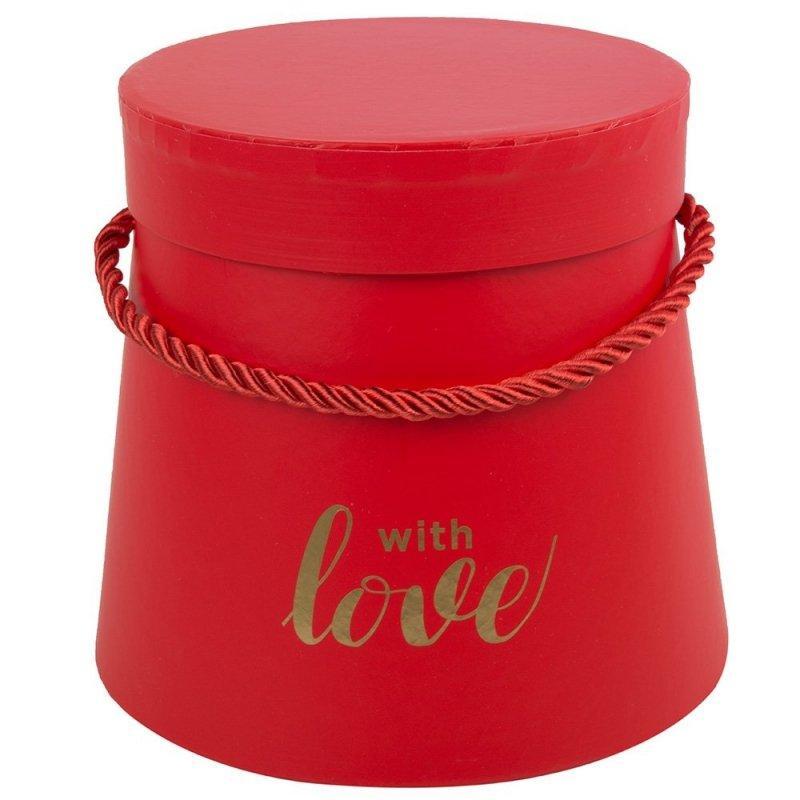 Flower Box With Love Czerwony Średni [ 2 Sztuki ]