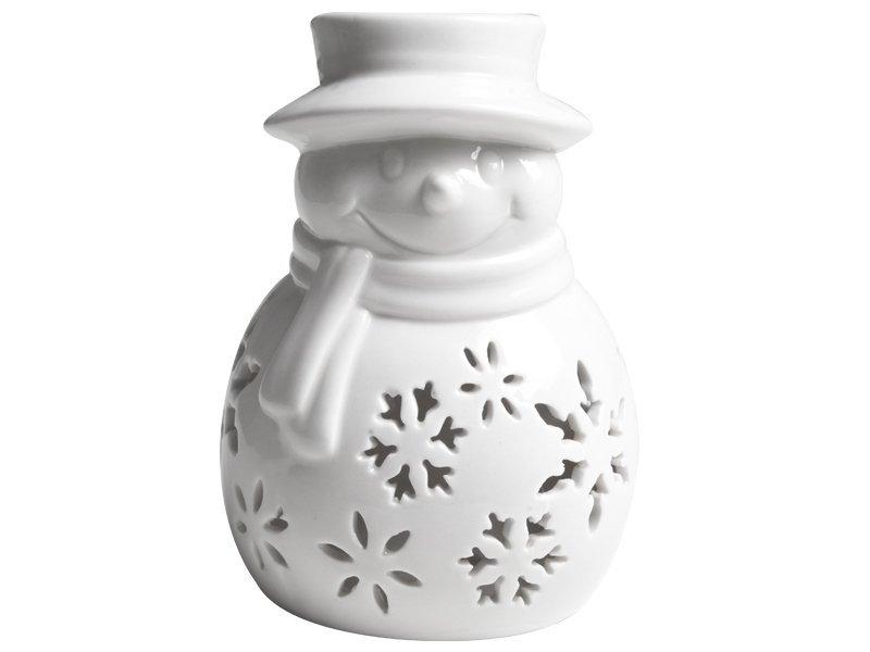 Bałwanek Porcelanowy [Komplet- 10 sztuk ]