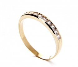 ARTES-Pierścionek złoty PR. 375