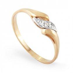 ARTES-Pierścionek złoty zaręczynowy A-90/375