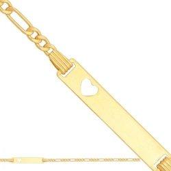 Bransoletka złota, dziecięca dla dzieci 585 - 20867