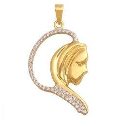 Medalik złoty 585 - 28736