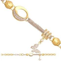 Bransoletka złota, damska 585 - 30754