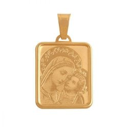 Medalik złoty 585 - 37557