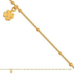 Bransoletka złota, damska 585 - Br063