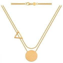 Celebrytka, naszyjnik, łańcuszek ze złota 585 - 39500