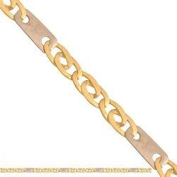 Łańcuszek złoty 585 - Lm018