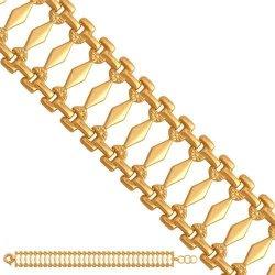 Bransoletka złota, damska 585 - 42708
