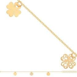 Bransoletka złota, damska 585 - Br039