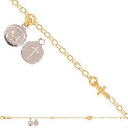 Bransoletka złota, damska 585 - 44964