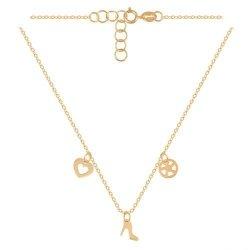 Celebrytka, naszyjnik, łańcuszek ze złota 585 - 45458