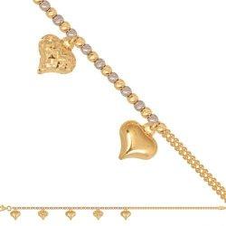 Bransoletka złota, damska 585 - 45861