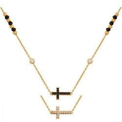 Celebrytka, naszyjnik, łańcuszek ze złota 585 - 48578