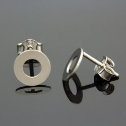 Kolczyki celebrytki srebrne KÓŁKA RINGS