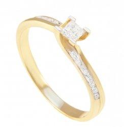 ARTES- Pierścionek złoty, zaręczynowy 590/375