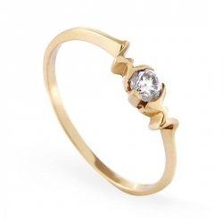 ARTES-Pierścionek złoty zaręczynowy A-28/375585
