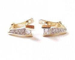 ARTES-Kolczyki złote 533 PR. 585