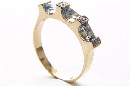 ARTES-Pierścionek złoty 512 PR. 585