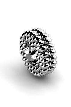 Koralik charms zawieszka modułowa srebrna 925