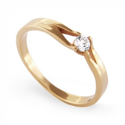 ARTES-Pierścionek złoty A-9 PR. 585