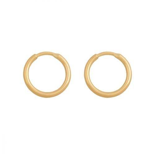 Kolczyki złote 585 koła - 20027