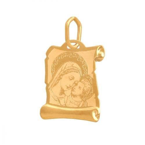 Medalik złoty 585 - 31785