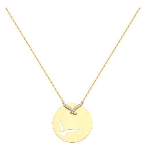 Celebrytka, naszyjnik, łańcuszek ze złota 585 - 32473