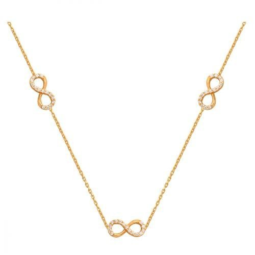 Celebrytka, naszyjnik, łańcuszek ze złota 585 - 33066