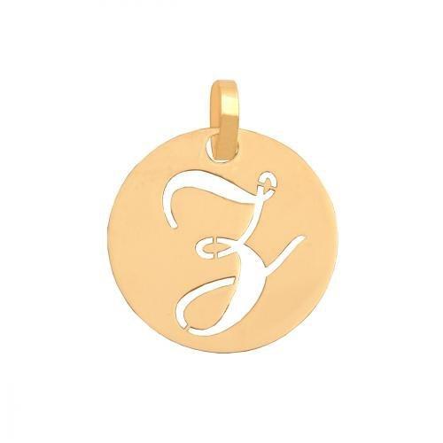 Zawieszka złota 585 litera, literka Z -  35537