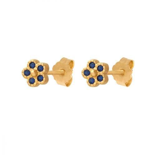 Kolczyki złote 585 sztyft - 40497