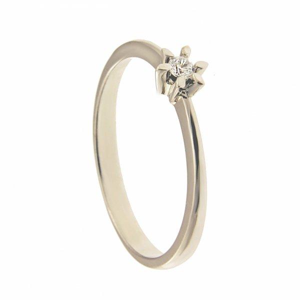 Pierścionek złoty zaręczynowy 24H PROMOCJA! 375