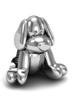 Zawieszka modułowa koralik charms srebro 925 piesek