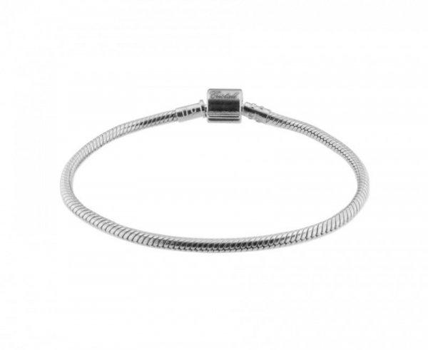 Bransoletka srebrna 925, koraliki modułowe