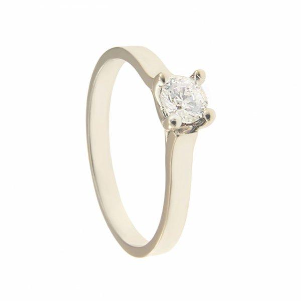 Pierścionek złoty zaręczynowy pr 375