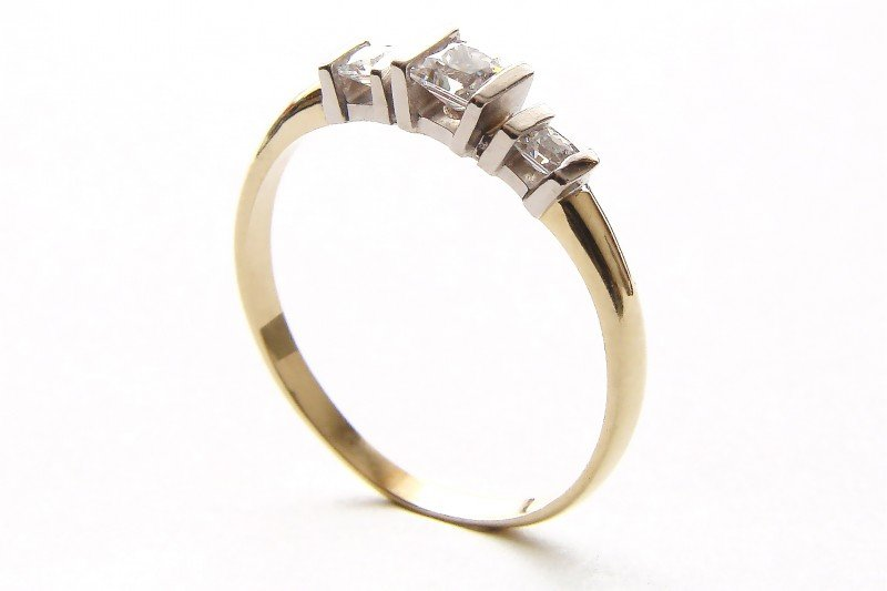 ARTES-Pierścionek złoty 480 PR. 585