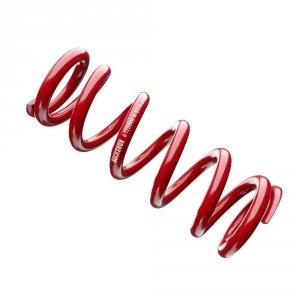 Spring, Metric Coil, Red , Length 134mm, Spring Travel (47.5-55mm), 550 lb