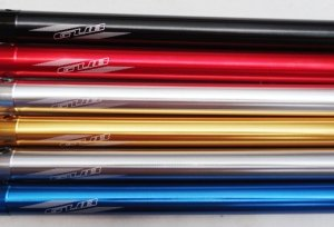 GUBbike-Wspornik siodła ULTRALIGHT-30,9mm 4 kolory (2014)