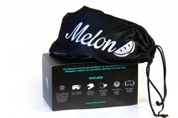 Gogle Melon PARKER MTB/MX Kosmos (Pasek i szkło do wyboru)