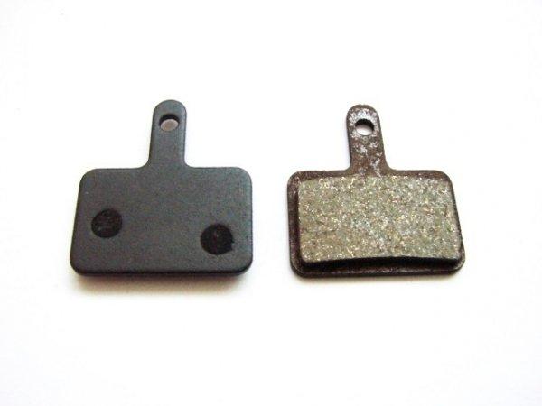 Klocki -A2Z Shimano Deore , Eco Polmetaliczne  (2011)