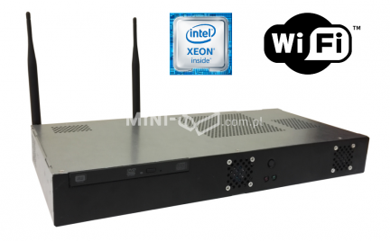 Komputer µForce Serwer Rack Intel Xeon E3-1220v6 8GB RAM 240GB SSD WiFi Mini-ITX