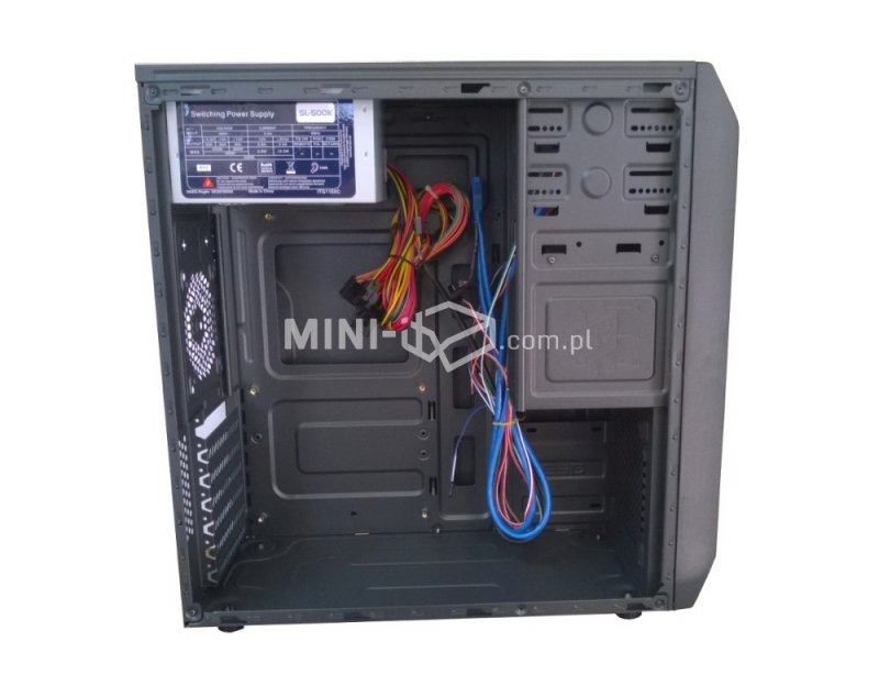 Obudowa Inter-Tech CM-35 Black 500W ATX/µATX