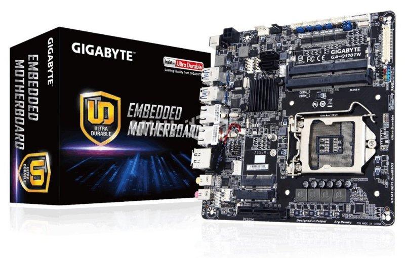 Płyta główna Gigabyte GA-Q170TN Thin Mini-ITX