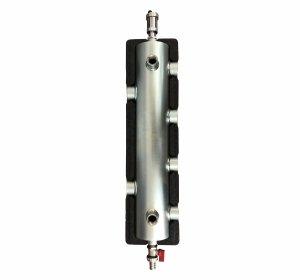Sprzęgło hydrauliczne z rozdzielaczem 2 obiegi ocieplone max 60 kW
