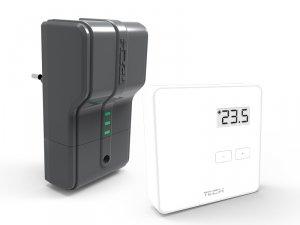 Tech ST-294v2 Bezprzewodowy regulator pokojowy biały