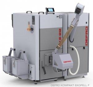 Defro Kompakt Ekopell 30 kw Kocioł na pellet Ecodesign