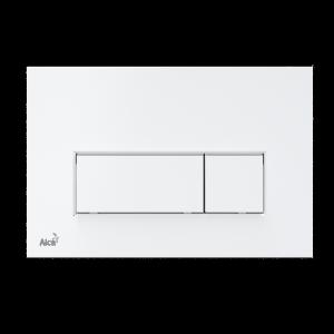 Alcaplast M570 przycisk spłukujący WC biały płaski