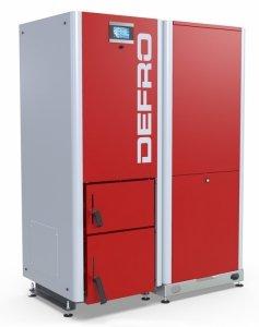 Defro Gamma 20 kW automatyczny kocioł peletowy do 250 m2
