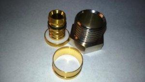 Oventrop Cofit S Złączka skręcana 16x1/2 GW mufa Pex
