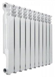 Grzejnik Aluminiowy Biały Ecoterm 10 Żeber 760 W